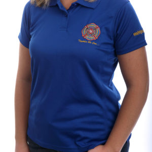 FCSN Women's Golf Shirt - Royal Blue
