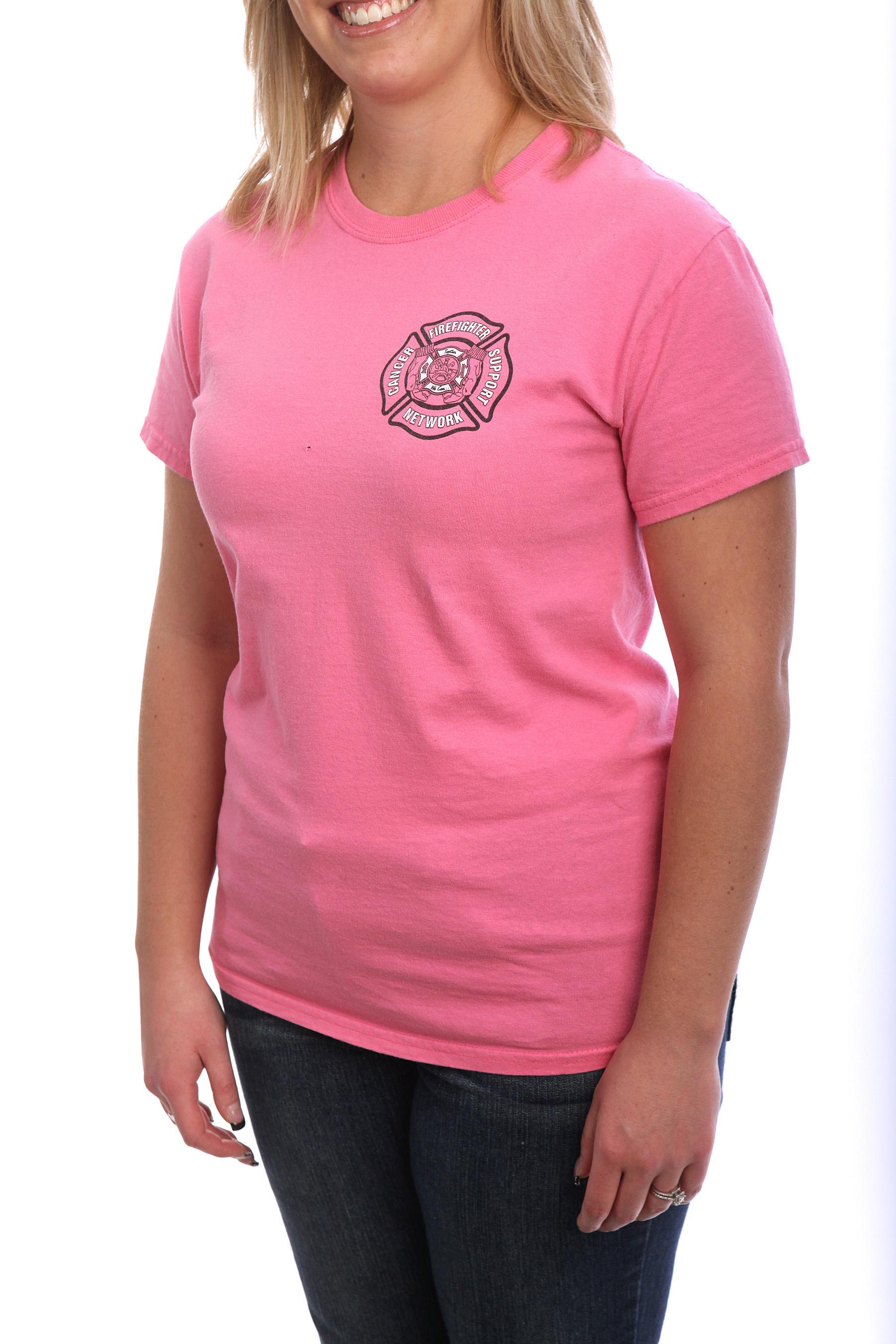 Fight Cancer With Fire - Phenix Helmet Women's T-Shirt