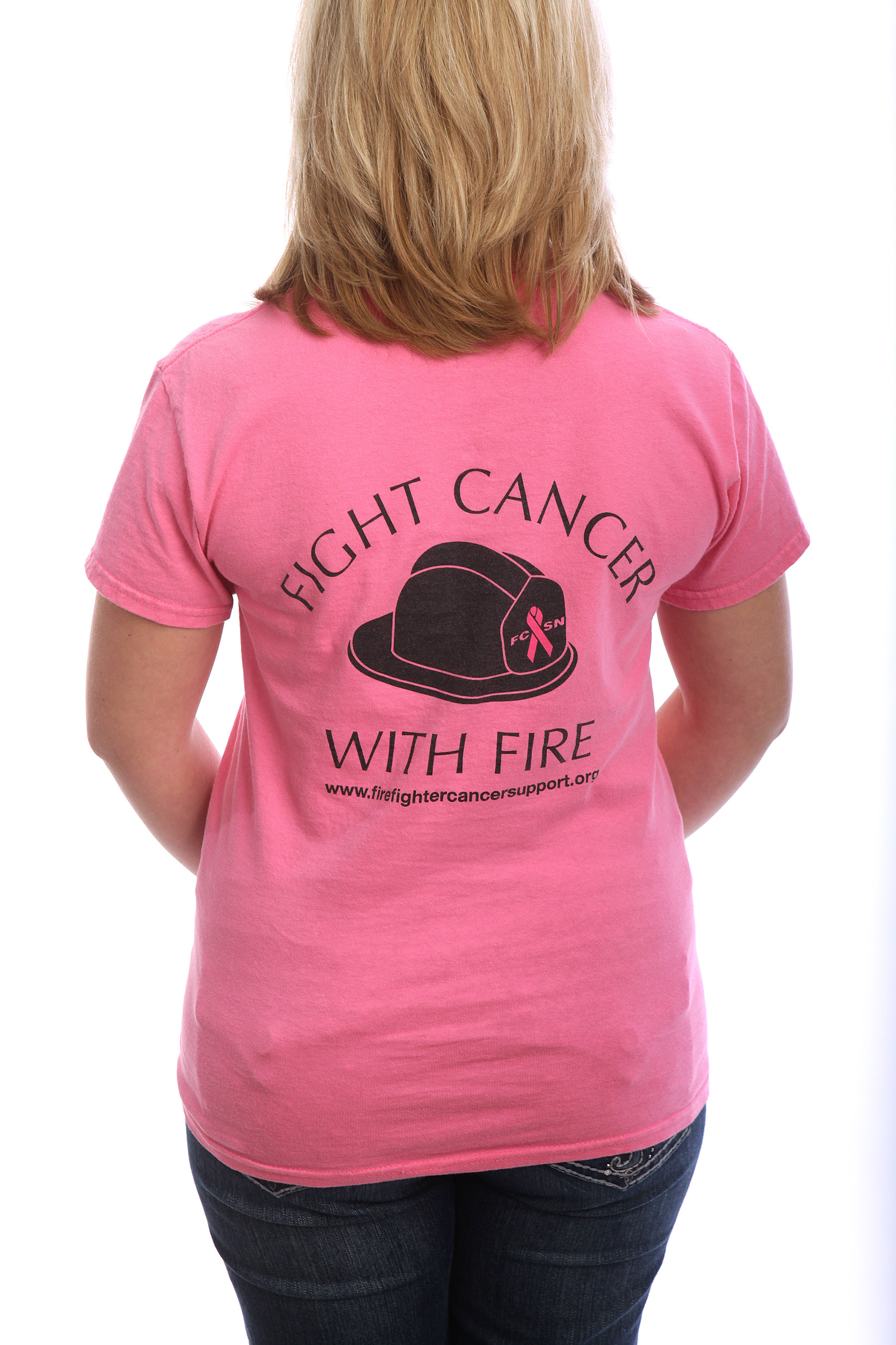 Cancer Awareness - Phenix Helmet Women's T-Shirt