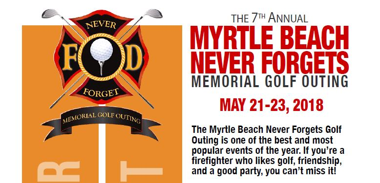 Myrtle Beach Never Forgets Golf Outing 2018